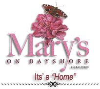 Mary's on Bayshore Logo